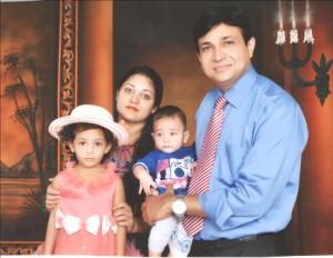 Dr. Aneel Yousaf, wife Rubacca, Debra, Jeremiah