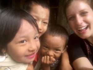 Danielle King & kids